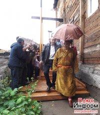 Геше Джампа Тинлей дает драгоценные советы жителям Тувы