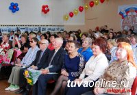 Школа № 14 города Кызыла отметила полувековой юбилей