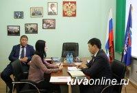 Депутат Госдумы РФ Мерген Ооржак провел прием граждан по личным вопросам