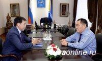 Глава Тувы нацеливает депутатов Государственной Думы на защиту бюджетных интересов региона