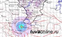 Землетрясение магнитудой 3 произошло на юго-западе Тувы