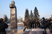 Возложение цветов в честь 115-й годовщины со дня рождения выдающегося государственного деятеля С.К.Тока