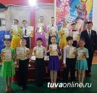 Тува: Студия бального танца «Созвездие» Максима Овчинникова заняла 1-е место на Республиканском турнире