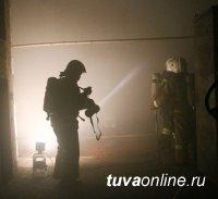В Туве пожарные спасли мужчину без определенного места жительства
