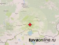 В Улуг-Хемском районе Тувы зафиксирован подземный толчок магнитудой 4