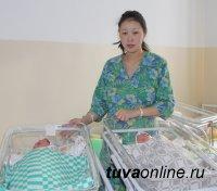 В Новогоднюю ночь в Туве родилось 11 малышей - 6 мальчиков и 5 девочек