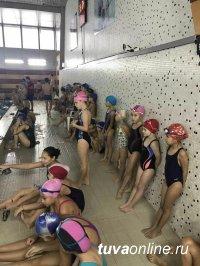 Кызыл: Новогодний турнир по плаванию собрал более 100 юных спортсменов
