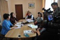 Пресс-конференция директора Агентства по делам семьи и детей Саиды Сенгии и Уполномоченного по правам человека и детей Ольги Россовой