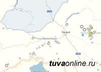 Землетрясение с интенсивность сотрясений 4,7 балла произошло в Туве