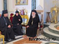 Группа священнослужителей и мирян из Кызыла совершила паломничество на Святую Землю