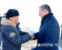 Глава Россетей Олег Бударгин с рабочим визитом посетил Туву