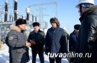 Глава Тувы договорился об электрификации неподключенных к сетям жилых кварталов пгт Каа-Хем