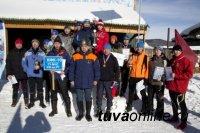 В Туве сотрудники федеральных силовых структур соревновались в лыжных гонках