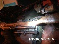В ходе рейда в заказнике Каъкский пресечены незаконные охота и рубка делового леса