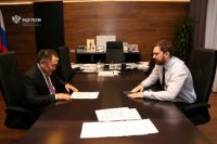 Глава Тувы Шолбан Кара-оол и руководитель ФАДН Игорь Баринов договорились о взаимодействии