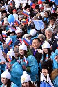 """18 марта в Кызыле пройдет митинг-концерт """"Мы вместе!"""", посвященный воссоединению Крыма с Россией"""