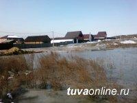 Кызыл: О необходимости откачки талых вод сообщайте по тел 23142