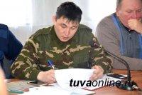 Спасатели дежурят в местах подтопления придомовых территорий в поселке Каа-Хем Кызылского района Тувы