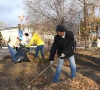 Предприятия и организации Кызыла участвуют в «Генеральной уборке» столицы