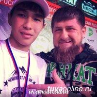 Сборная Тувы завоевала в Чечне 7 медалей