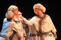 Алтайская «Туба» на сцене Национального театра Тувы