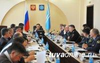 Глава Тувы провел заседание Антитеррористической комиссии