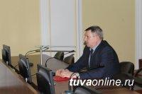 В очередной раз сводный отряд полиции Тувы отправился в командировку на Северный Кавказ