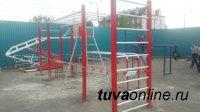 Кызыл: новые турники во дворах и футбольные страсти