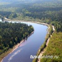 Уровень воды в реках Тувы