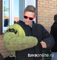 Центр кинологической службы МВД по Республике Тыва посетили студенты транспортного техникума