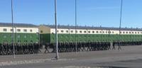 Начался первый летний курс обучения 55-й мотострелковой бригады в Туве