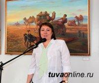 Дипломные работы молодых тувинских художников выставлены до 8 июня в Доме художника