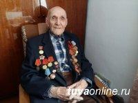 Кызыл: На 105 году ушел из жизни фронтовик Павел Тихонов