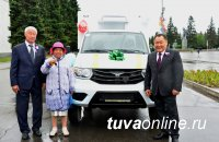 В День России сельхозпредприятие «Моген-Бурен» получило холодильник на колесах