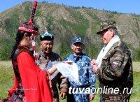 В МВД по Республике Тыва состоялся традиционный Слет ветеранов органов внутренних дел