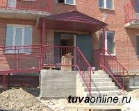 В Кызыле завершается строительство ещё одного многоквартирника по программе переселения из аварийного жилья