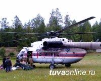 Борьба с лесными пожарами в Туве продолжается. Угрозы населенным пунктам нет