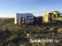 В Туве спасатели вытащили троих детей, попавших в яму с гудроном