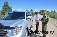 Пограничники Тувы проверили соблюдение пограничного режима