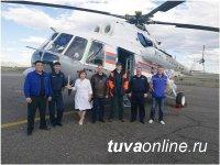 В рамках проекта по развитию санитарной авиации в Туве выполнено 45 вылетов