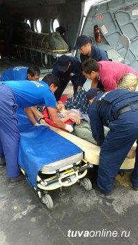 Тувинских летчиков поблагодарили за оперативную помощь и профессионализм