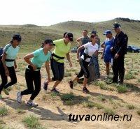 В МВД по Республике Тыва прошли соревнования по летнему служебному биатлону