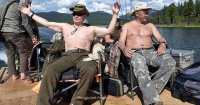 Ажиотаж вокруг президентского отпуска в Туве не стихает. Западные СМИ отмечают великолепную  физическую форму Путина
