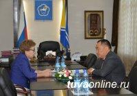 Глава Тувы провел рабочую встречу с министром образования и науки