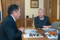 Министр образования Ольга Васильева и полпред Президента Сергей Меняйло откроют в Кызыле новую школу