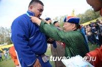 Кубок Главы Тувы завоевал борец из Монголии, на втором месте - Айдын Отчурчап (Кызыл)