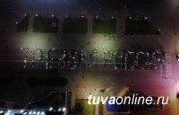 """На главной площади Тувы более 500 человек сложили слова """"Трезвая Россия"""""""