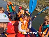 Агентство «Тоджа Тур» предлагает кызылчанам сплавы по Енисею на рафте