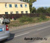 В Кызыле задержан водитель, скрывшийся после наезда на пешеходов, двое из которых дети