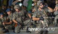 Горные стрелки из Тувы переброшены в Узбекистан
